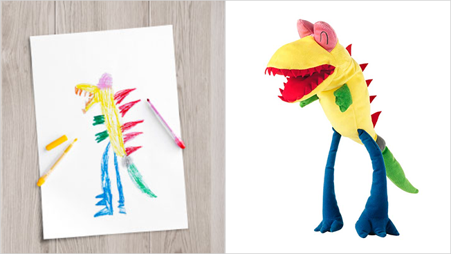 ikea turns kids drawings into real toys to help promote children s education my modern met