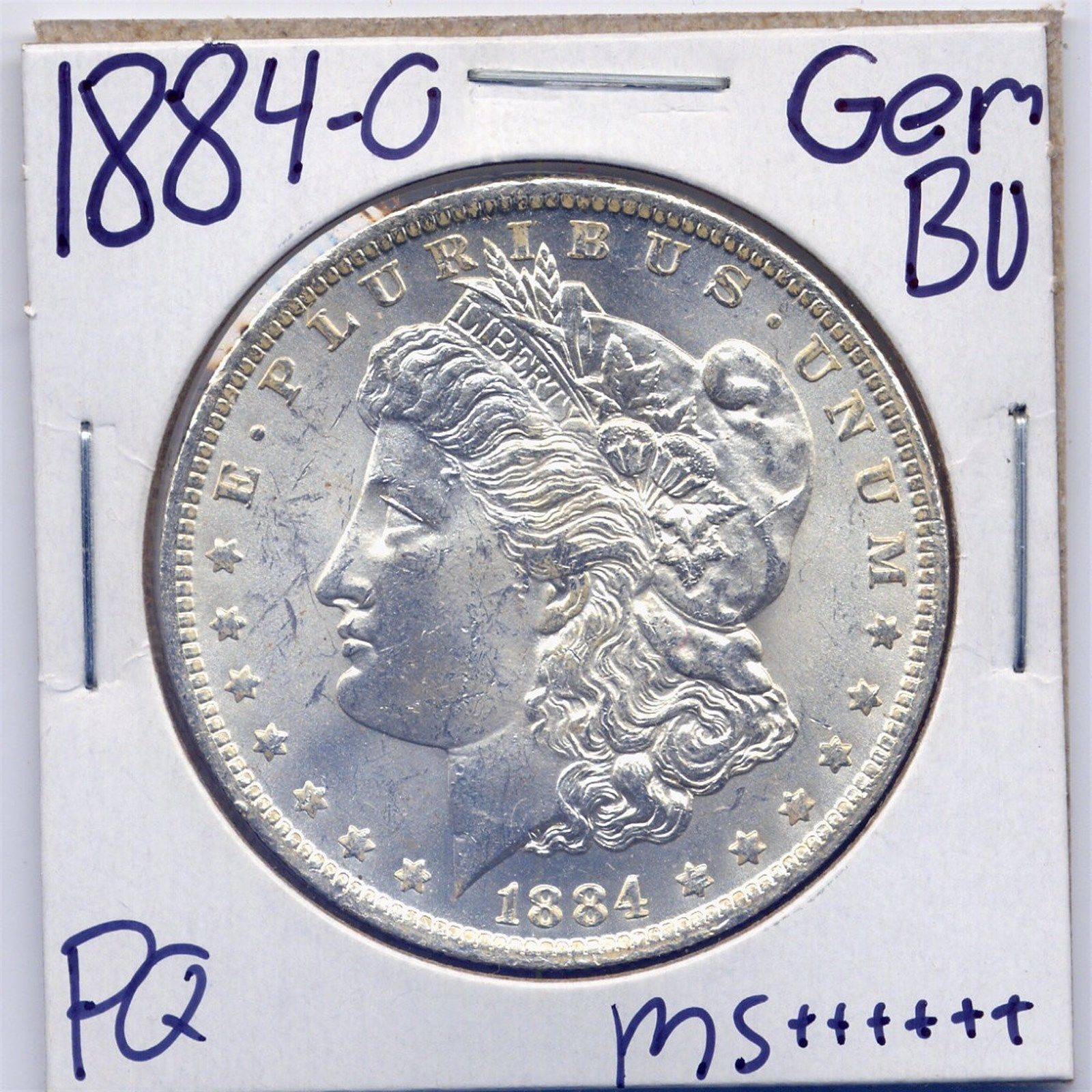 Coins 1884 O Morgan Dollar Uncirculated US Mint Gem PQ Silver Coin