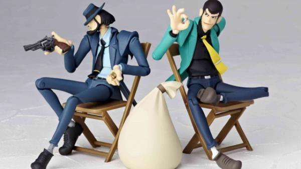 Conjunto de figuras de Lupin III #LupinIII #Lupin #KazuhikoKato