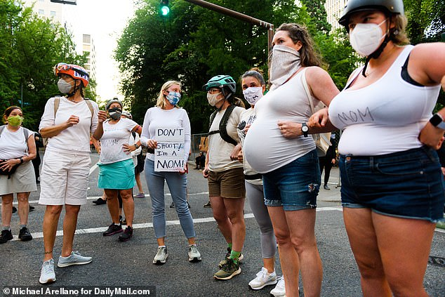 Portland Moms Gassed Twitter Search Twitter In 2020 Mom Protest Signs Faith In Humanity Restored