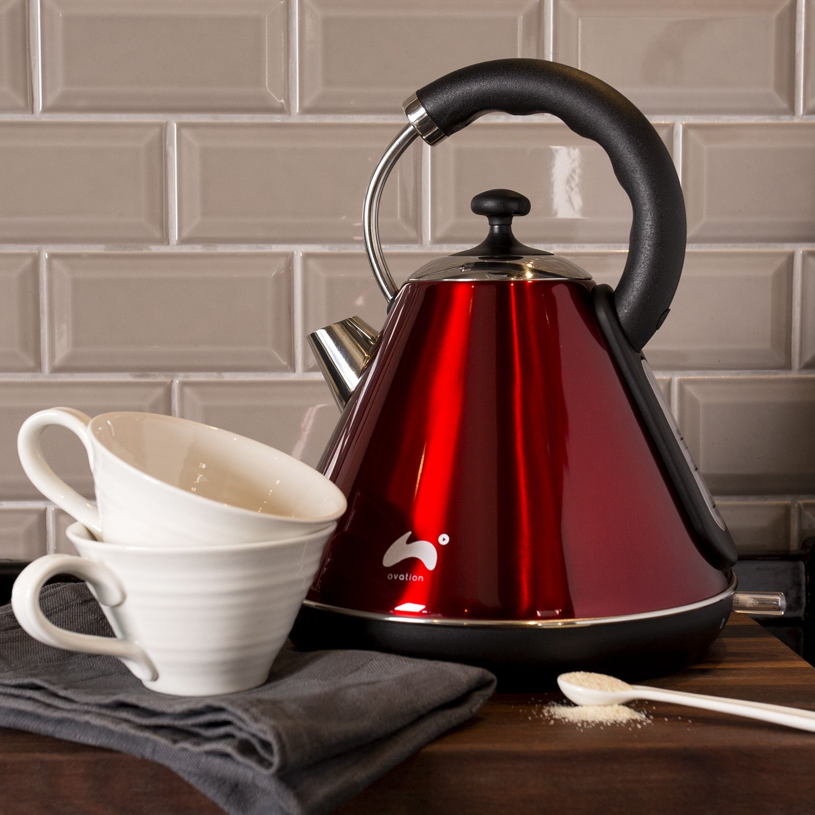 ovation pyramid kettle in red ovation products pinterest