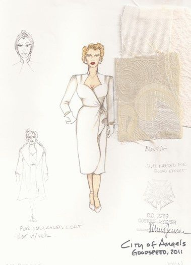 City of Angels (Alaura). Goodspeed Musicals. Costume design by Tracy Christensen. 2011