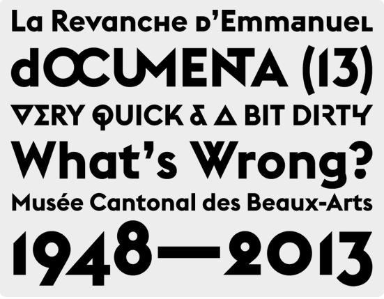Euclid Emmanuel Rey [Swiss Typefaces]