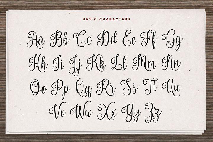 Nouradilla Script  - Free Font of The Week Design 1