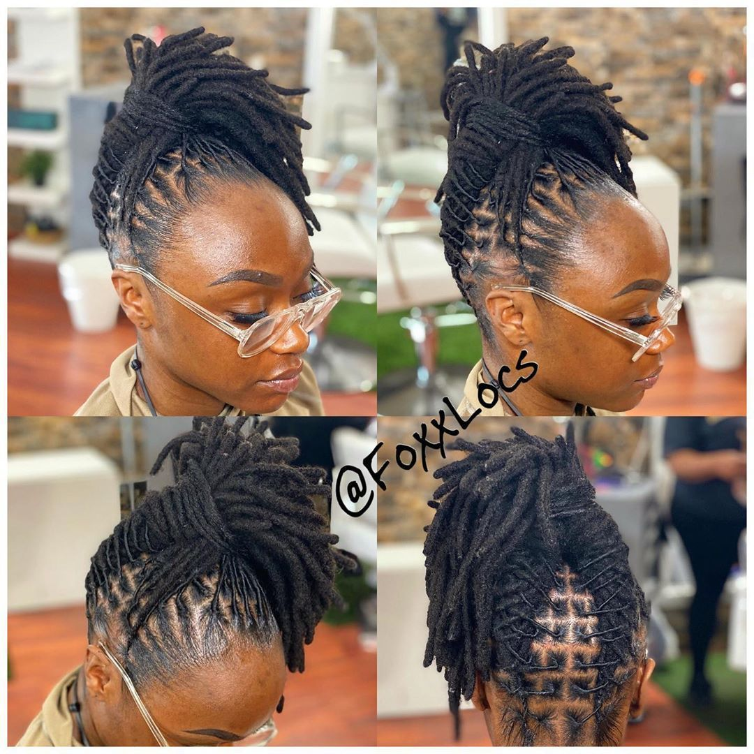 Foxxlocs Shared A Photo On Instagram Consistency In 2020 Natural Hair Styles Dreadlock Styles Locs Hairstyles
