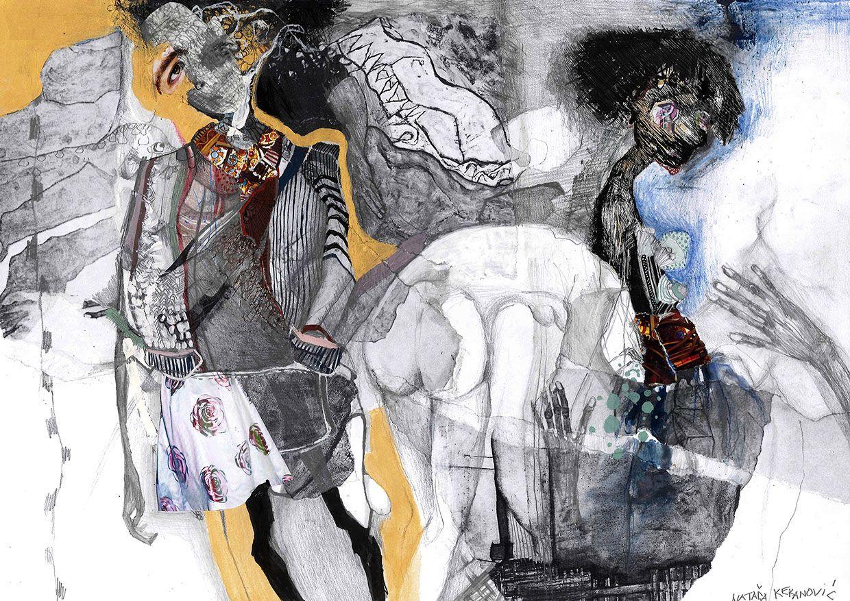 Fashion illustration by Natasa Kekanovic