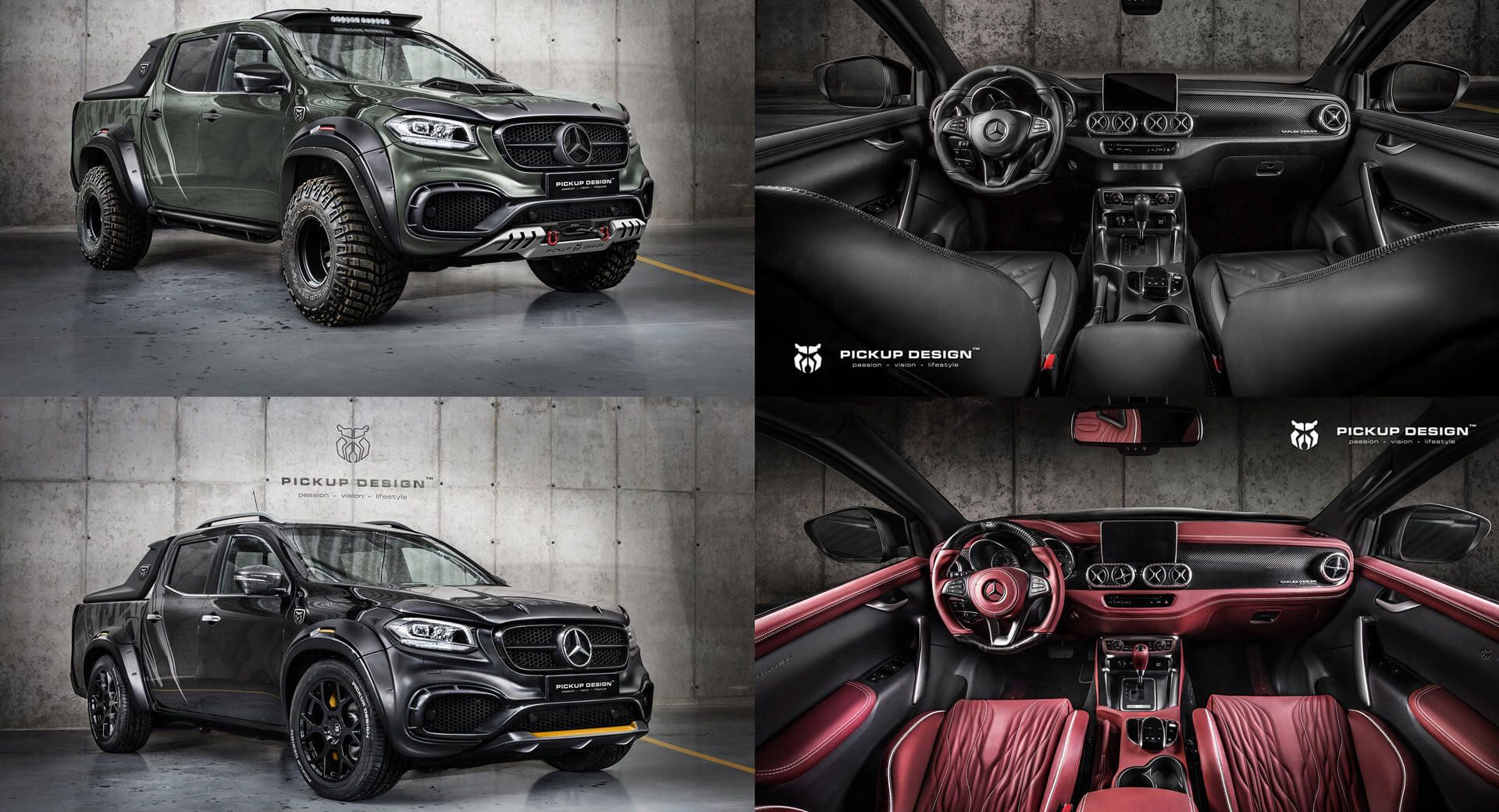 Beauty And The Beast Mercedes X Class Gets Two Tuning Jobs From
