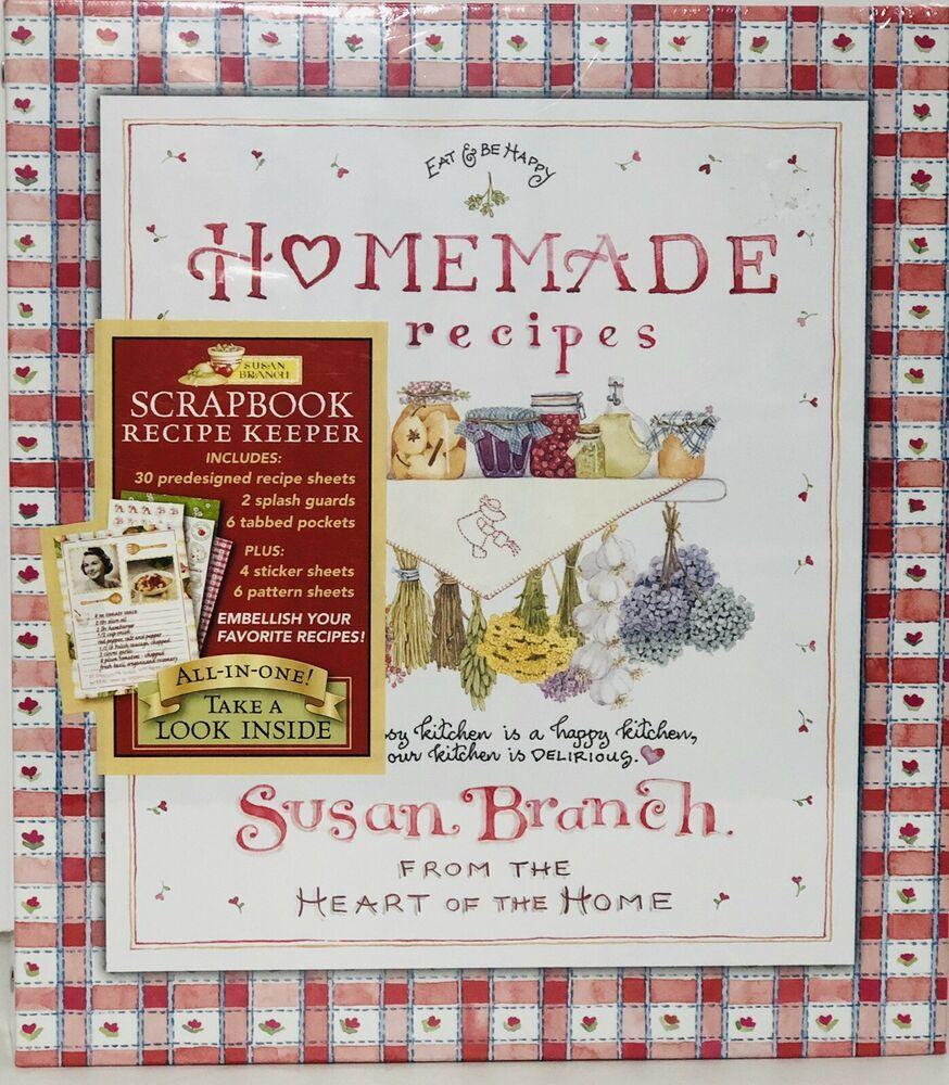 Susan Branch Homemade Recipes Scrapbook Recipe Keeper 3