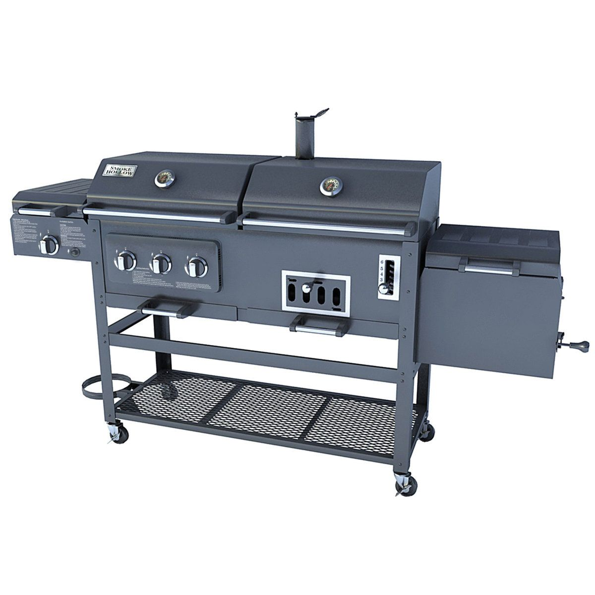 Smoke Hollow Tri Mate Model 47180t Gas Charcoal Grill