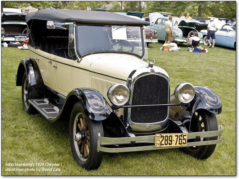 1924 Maxwell: 1924- William Chrysler introduced his first automobile ...