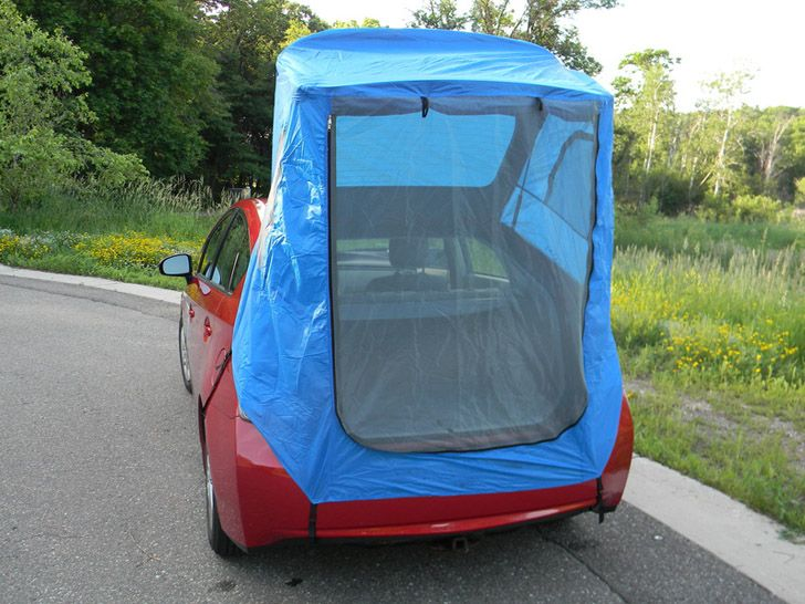 You Can Buy This Tent For A Prius That Fits In The Glove Box & You Can Buy This Tent For A Prius That Fits In The Glove Box ...