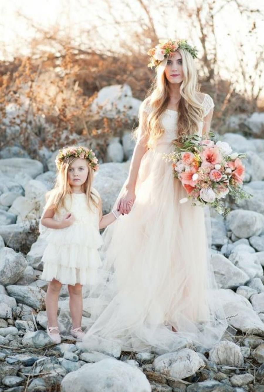 Robe mariage mere et fille