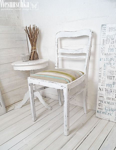 Vintage Stühle vintage stühle vintage stuhl im shabby look ein designerstück