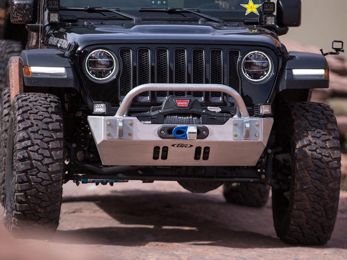 Jeep Wrangler Jl Jeep Gladiator Jt Front Bumper W Winch Guard