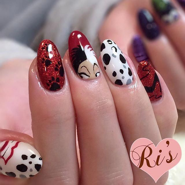 Pin by Kellie Nicole 💋 on ️Disney ️ in 2020 | Disney nails ...