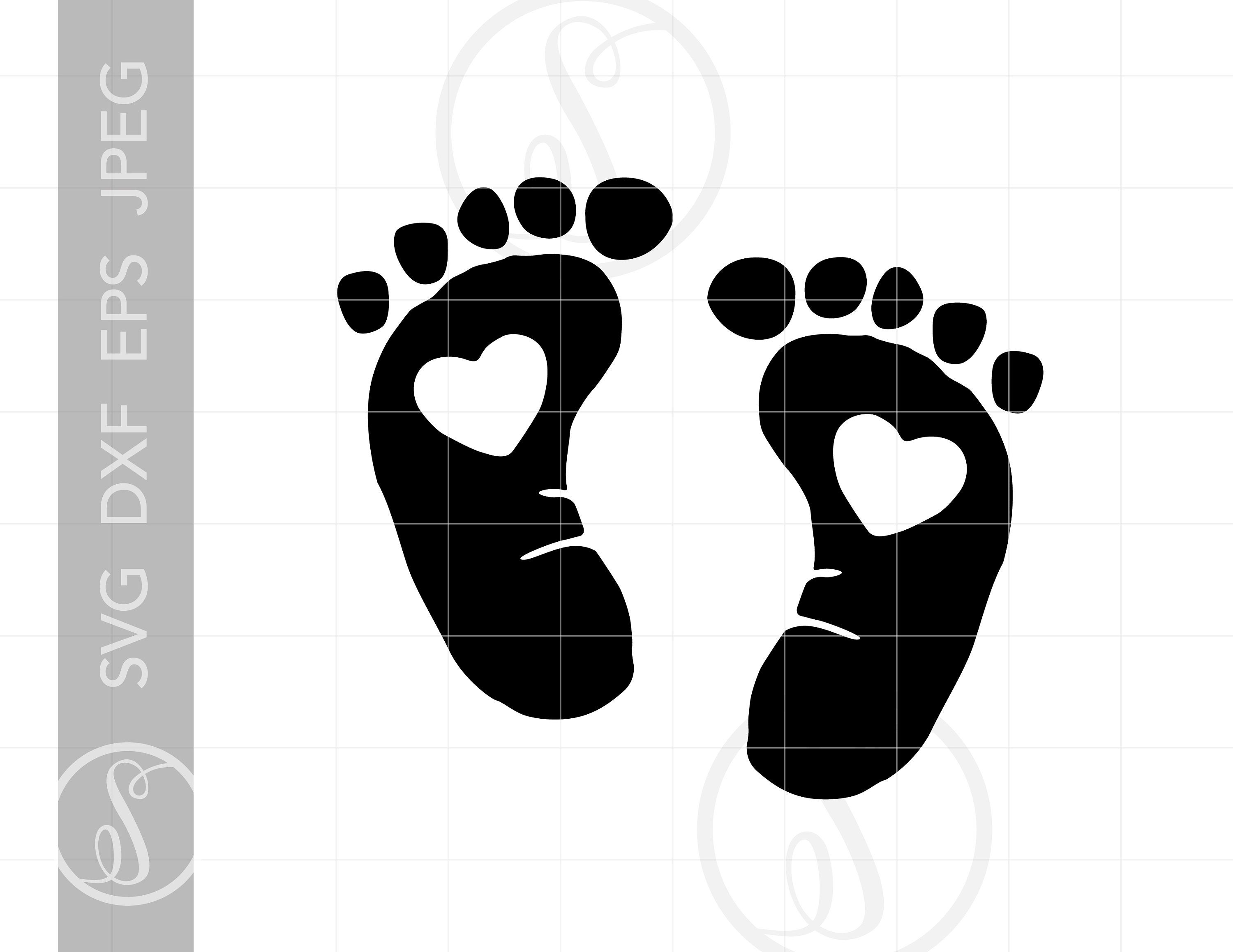 Baby Footprint File Graphic By Cosmosfineart Creative Fabrica Baby Footprints Baby Monogram Monogram Letters