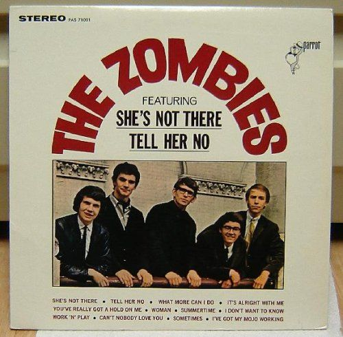 the zombies album covers | Zombies The Zombies (lp Vinyl) Album Cover