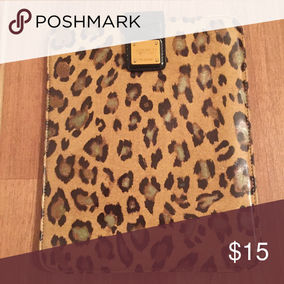 Ralph Lauren leopard print tablet case Ralph Lauren leopard print tablet case. Thick padded and slim design. Can hold full size or mini size tablets. Ralph Lauren Accessories Tablet Cases