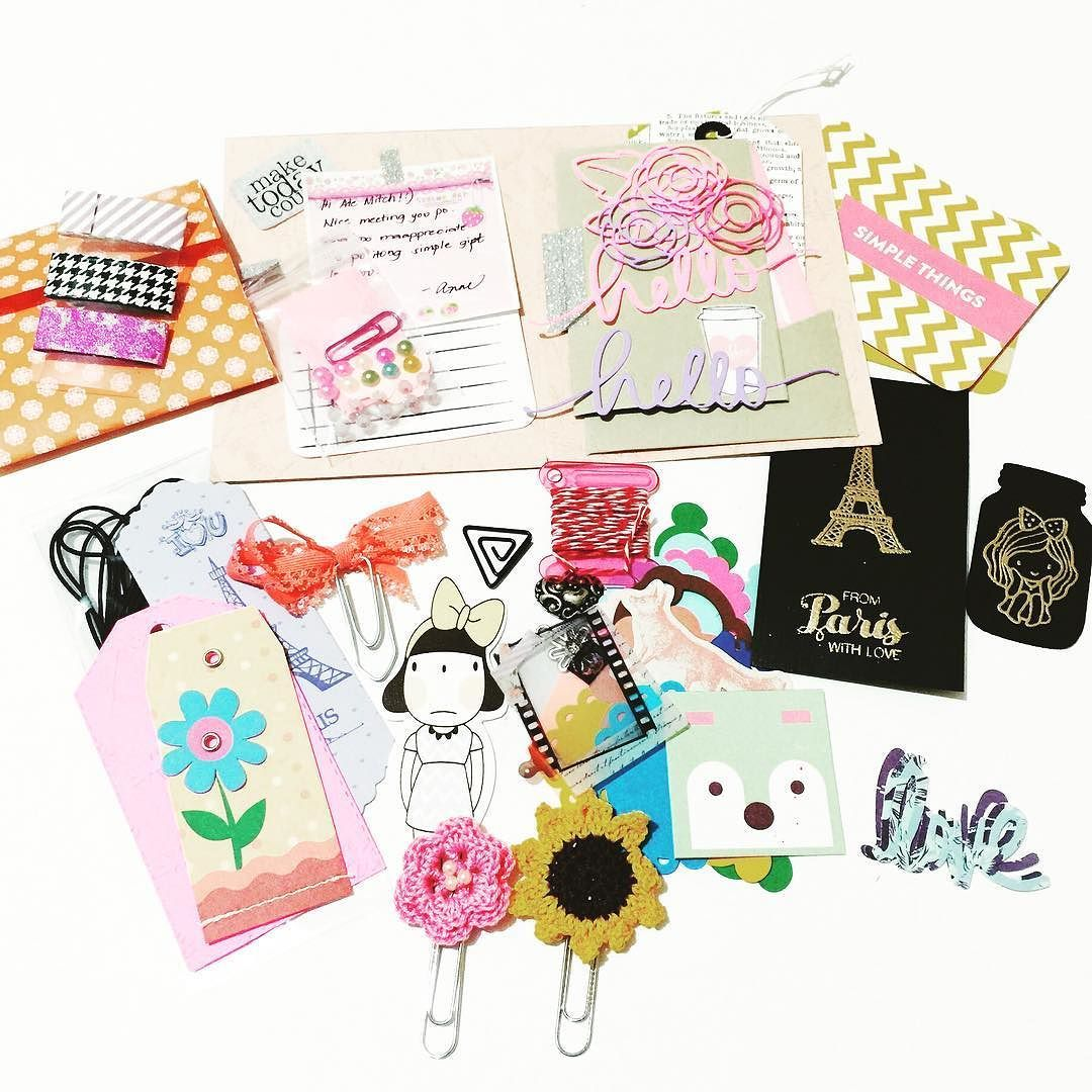 Take home goodies from our mini planner party yesterday. Just a 30min ride from home. We had stamp buffet puncher galore heat emboss station and cammy demo. Let's do this again planner sisters!  by plannerdose