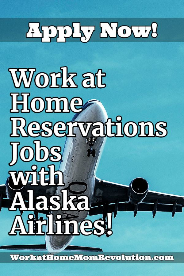 Work at Home Reservations Jobs with Alaska Airlines