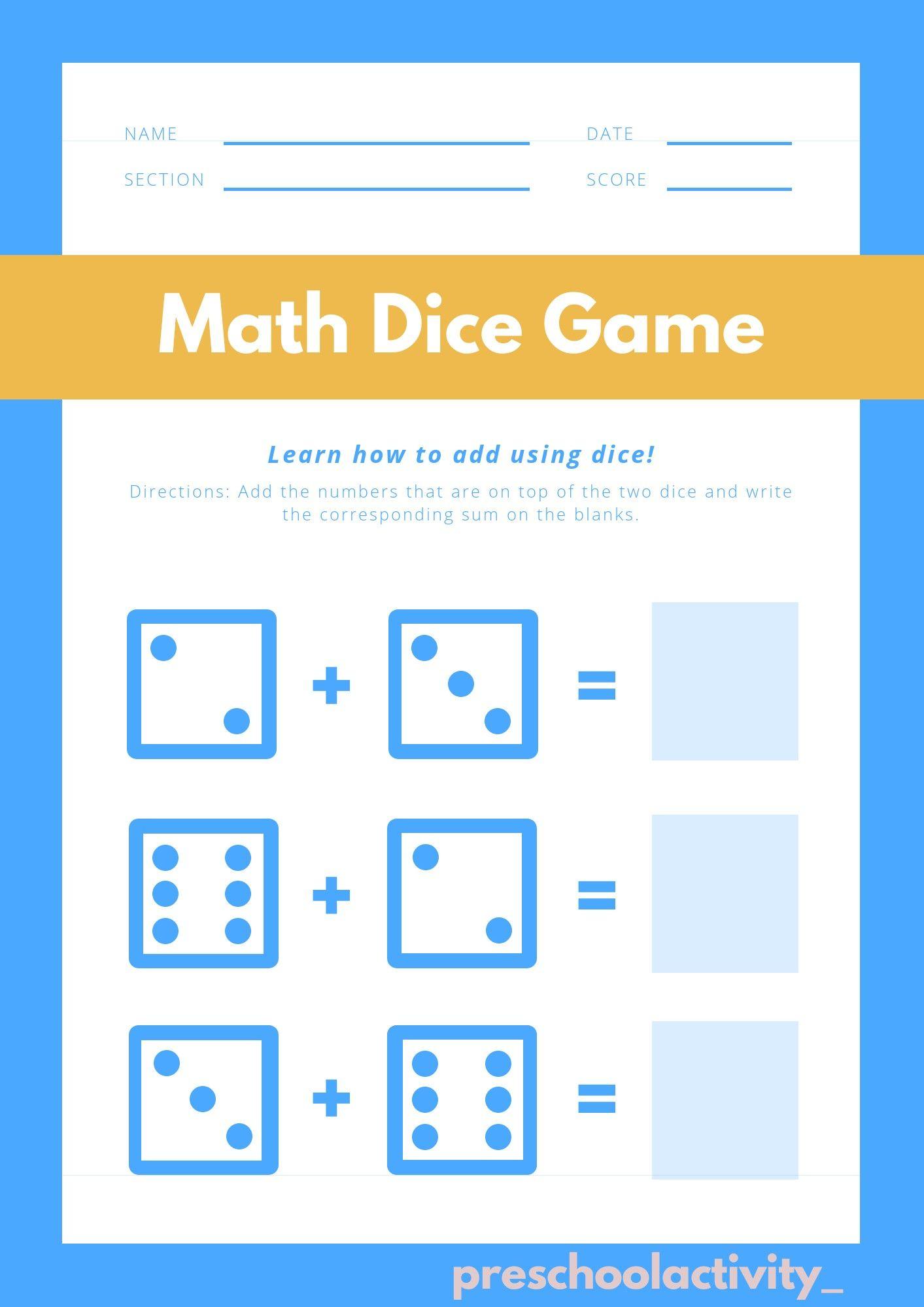 Pin On Kindergarten Maths Worksheet