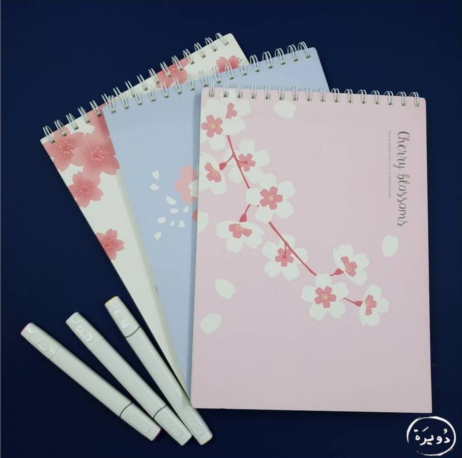 دفاتر رسم قياس A4 مناسبه للتخطيط 40 ورقه السعر 4 الف دينار Sakura Drawing Note Books Art Notes