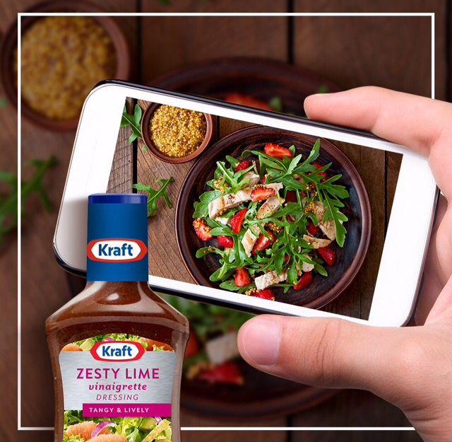 ¿Aún no subes la foto de tu cena? Compártela con nosotros. #kraftrd #hagamosalgodelicioso #kraftfoods