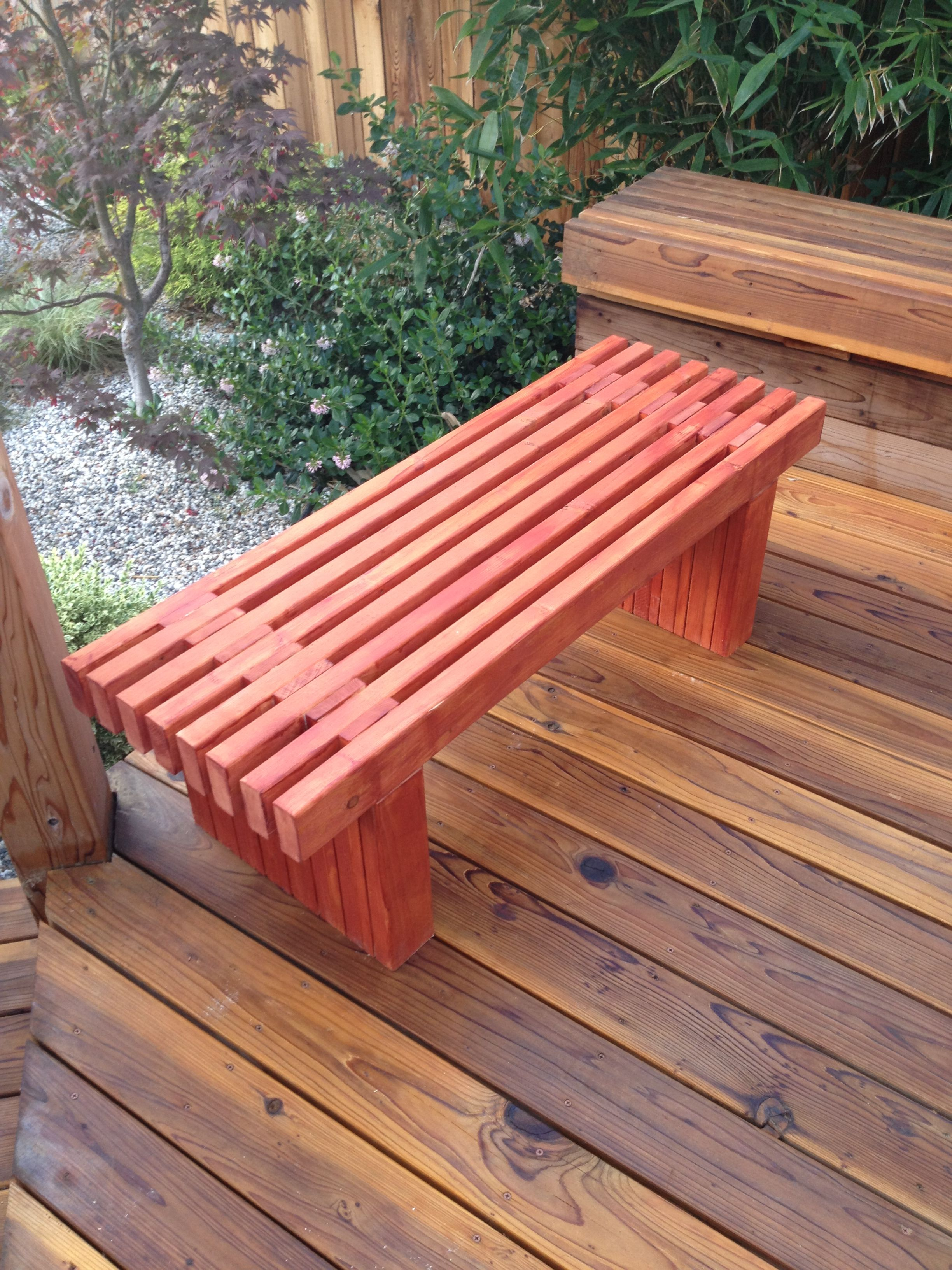 slat bench pallet furniture pinterest cedar bench bench and