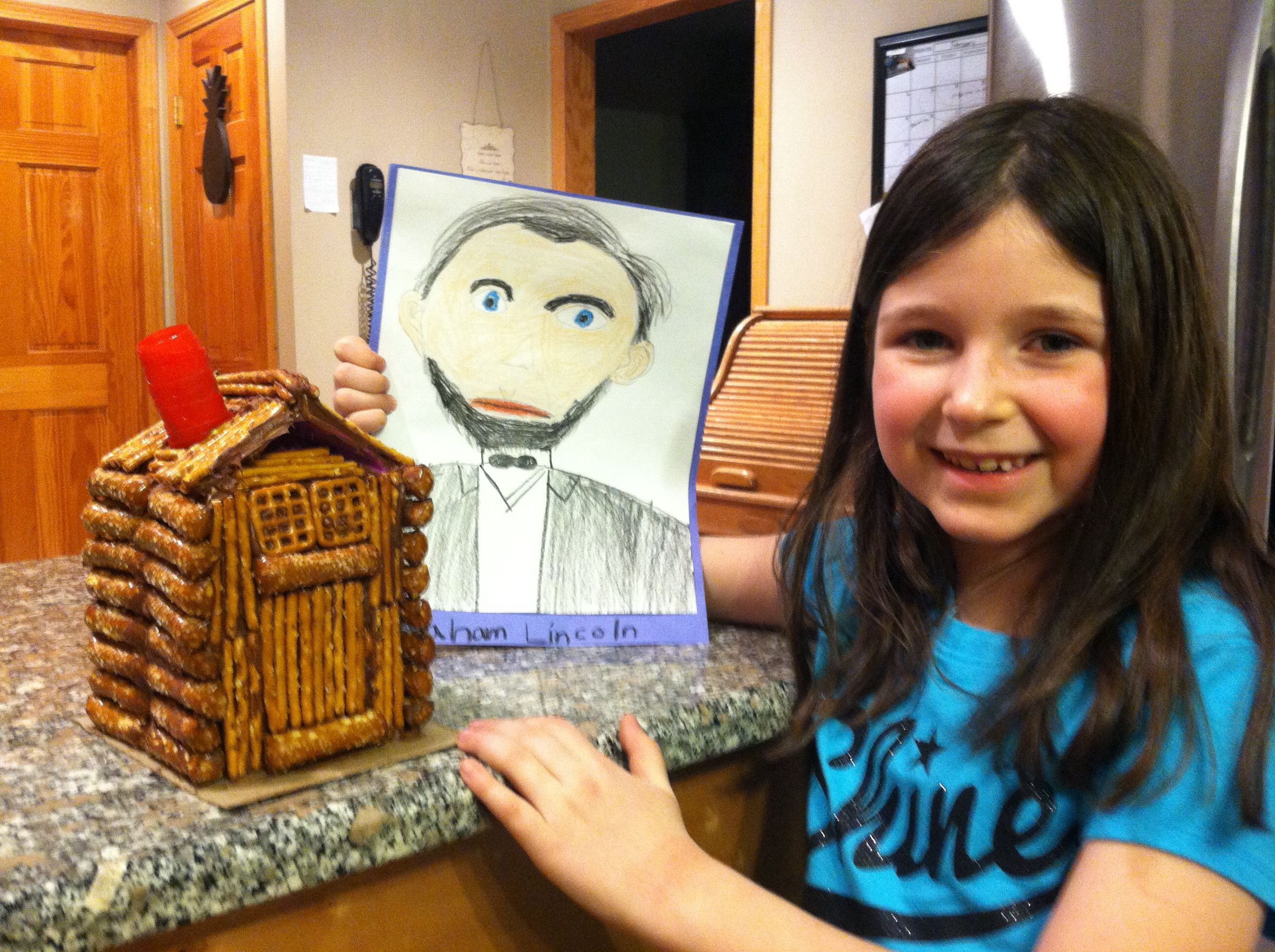 Abraham Lincoln 2nd Grade Project Projects For Kids Projects Kids [ 1936 x 2592 Pixel ]