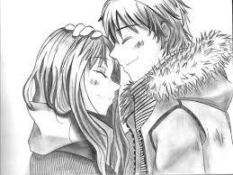 Resultado De Imagen Para Anime Para Dibujar Amor Pinterest