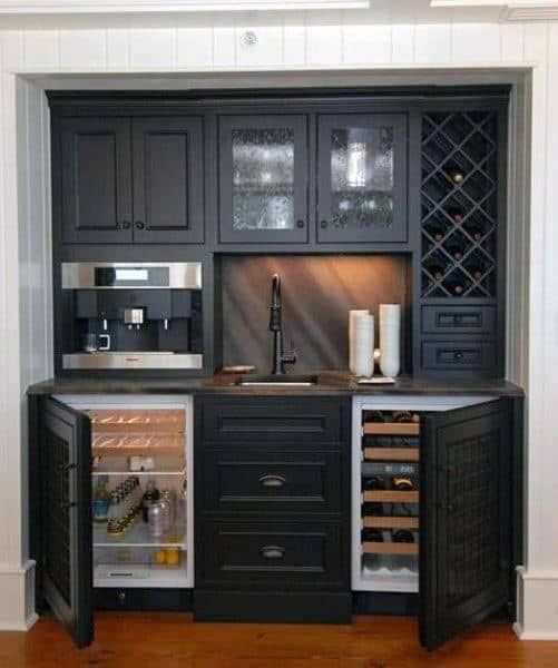 Top 70 Best Home Wet Bar Ideas – Cool Entertaining Space Designs