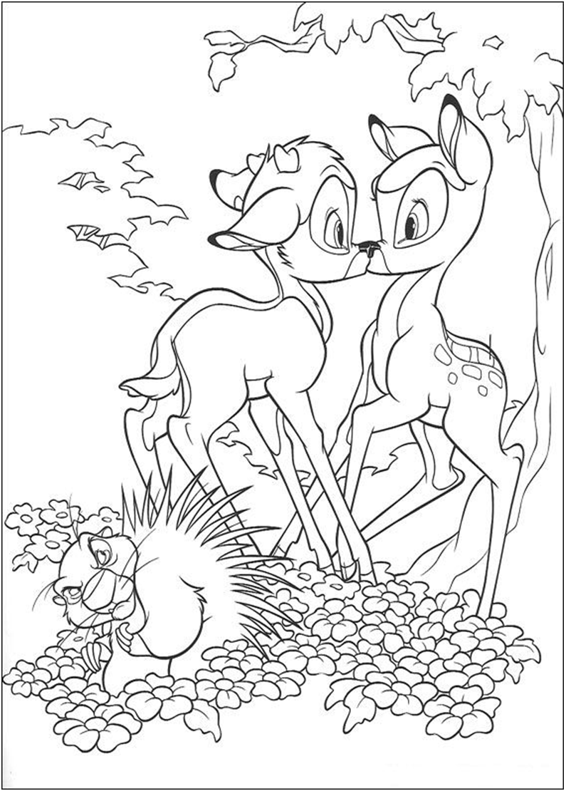 Bambi 2 coloring page | Coloring pages and Printables | Pinterest