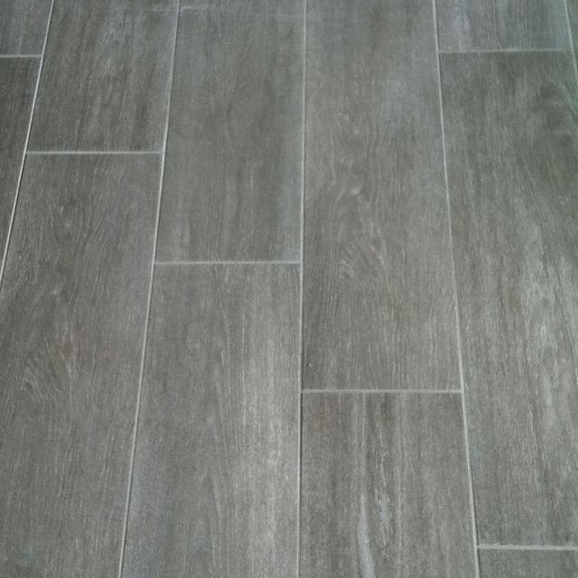 grey wood tile bathroom floor tiles