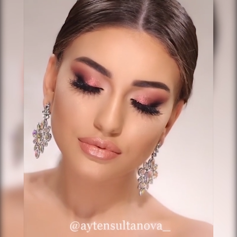 Photo of ROSE PINK GLAM MAKEUP LOOK TUTORIAL IDEA FOR HOLIDAY