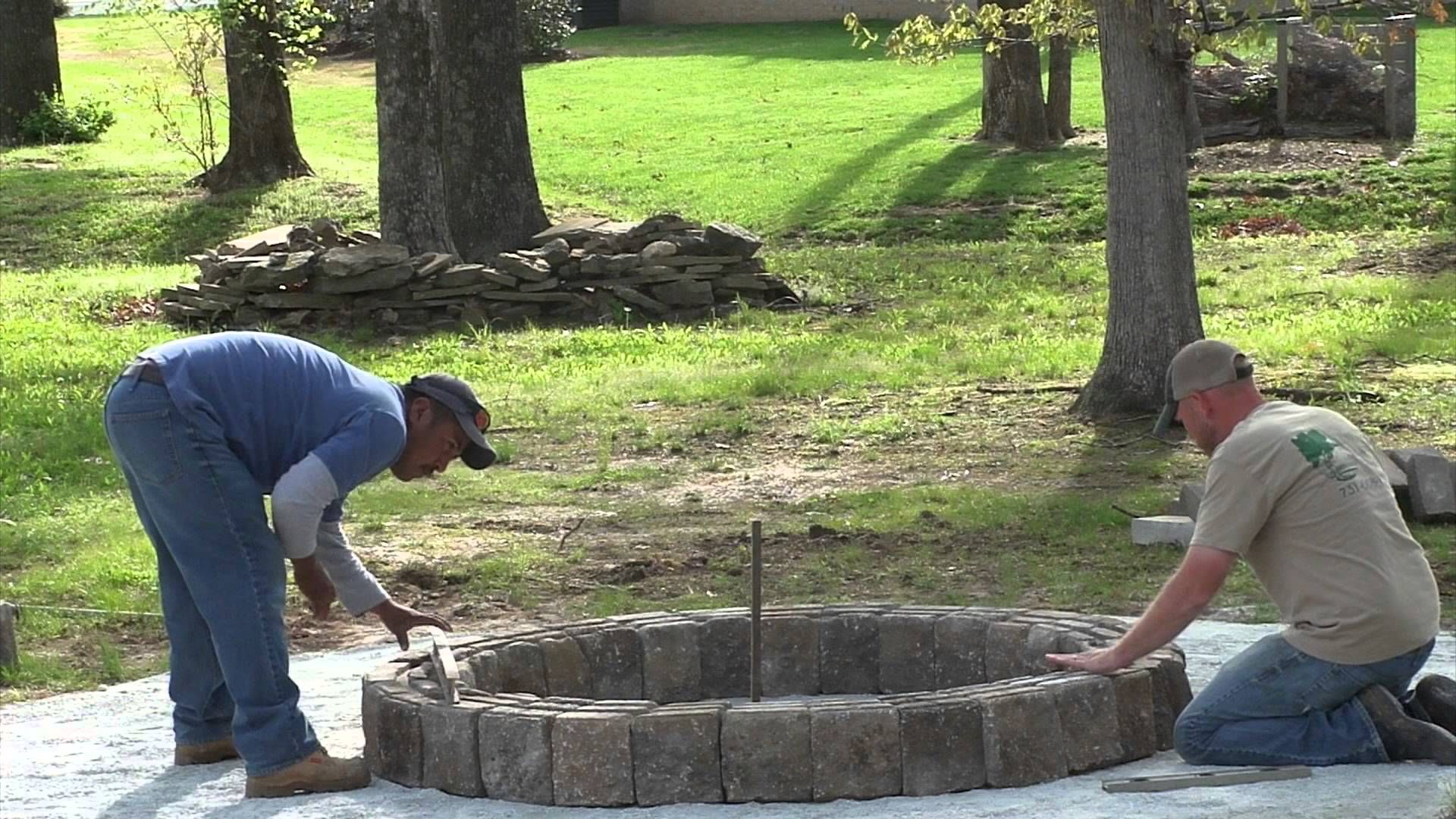 how to build a backyard firepit love firepit how to