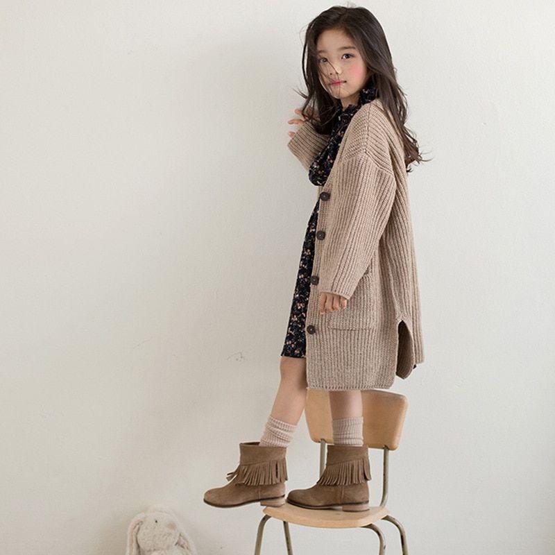 dfd809c75c99 children clothing girls age 11 12 years long knitting baby girls ...