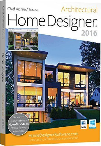 chief architect home designer architectural 2016 by chief architect