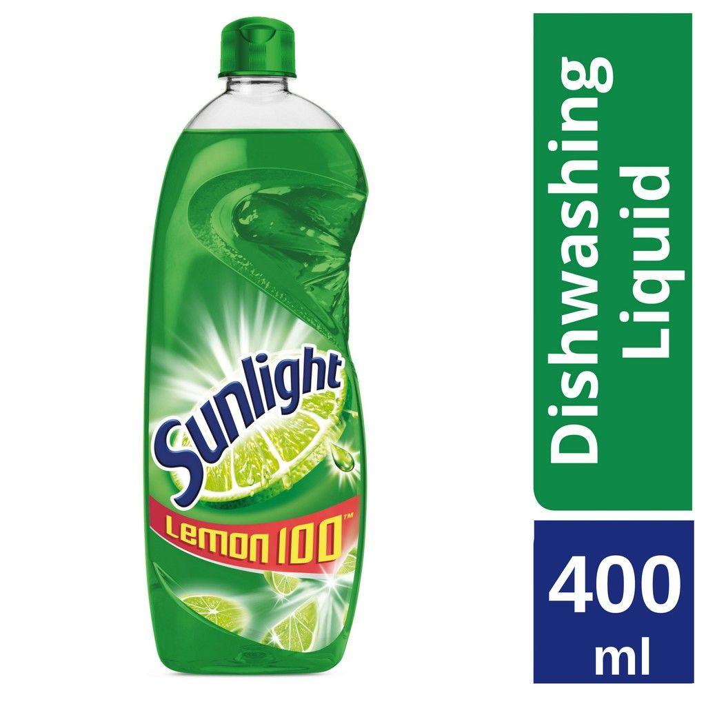Sunlight Lime Dishwashing Liquid 400ml Dishwashing Liquid