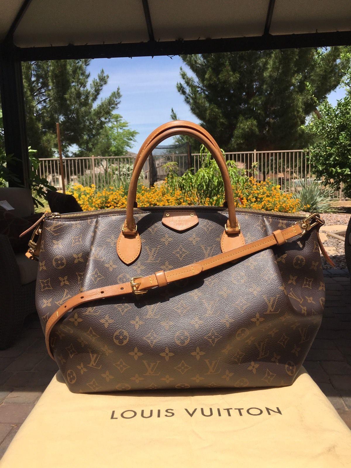 5d16ee742c82 Authentic Louis Vuitton Turenne GM Bag Purse Sac À Main, Totes De Louis  Vuitton,