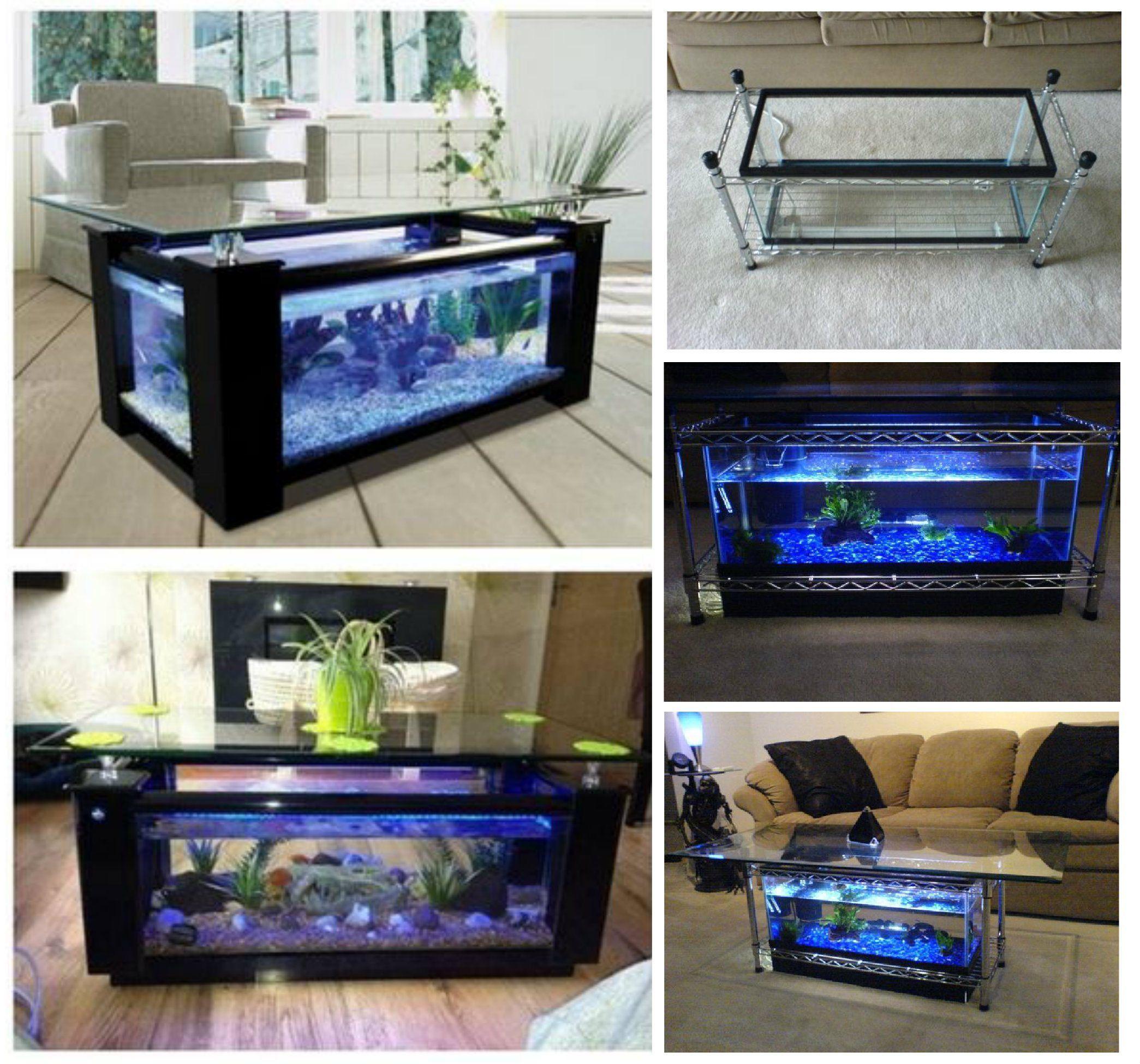 How To Make Diy Aquarium Coffee Table Fish Tank Coffee Table