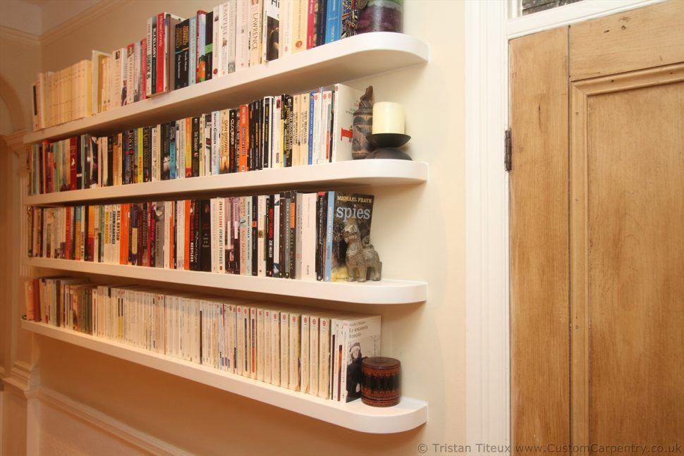 Bathroom Floating Bookcase Ideas Doherty House Build Bookshelves