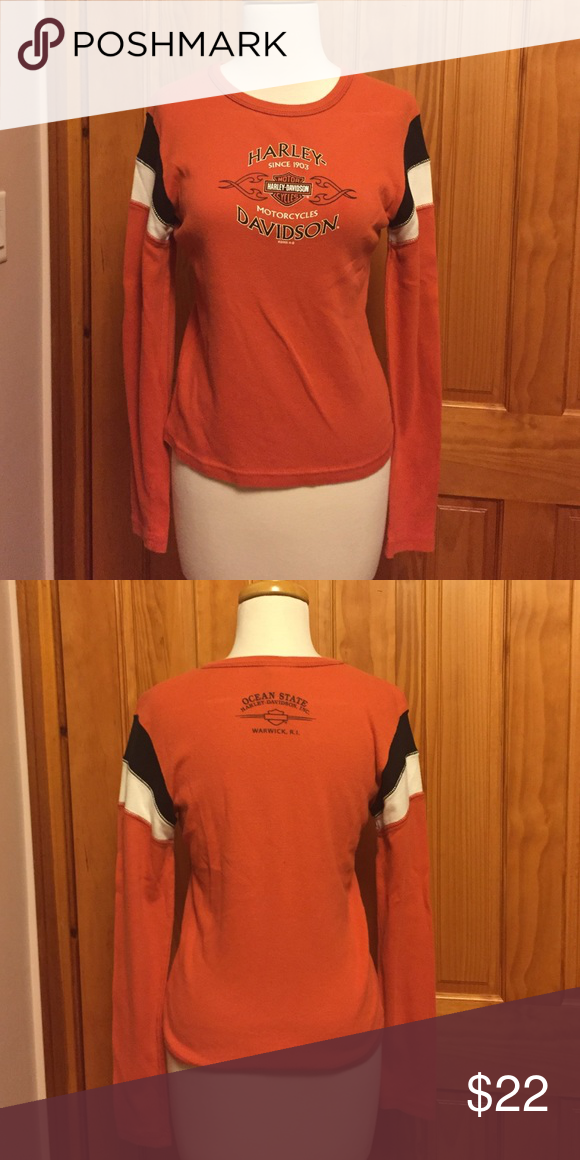 Women S Long Sleeve Harley Davidson Shirt Medium My Posh Picks