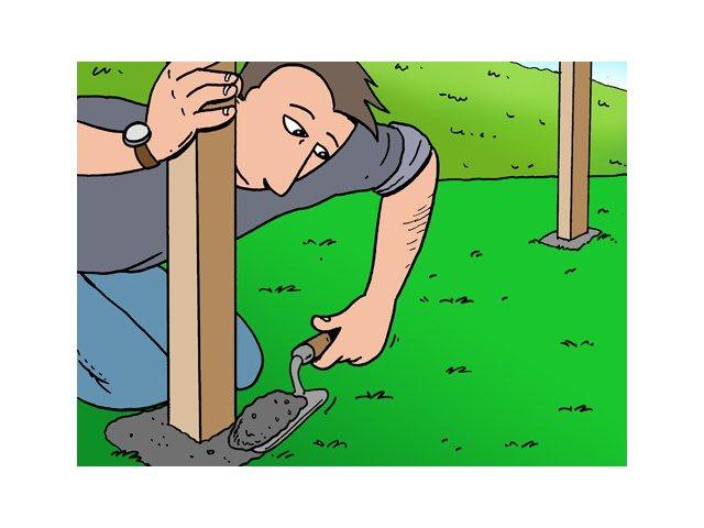 Comment fabriquer soi-même une pergola ? - Bois de jardin - Livios - construire sa terrasse en bois soimeme