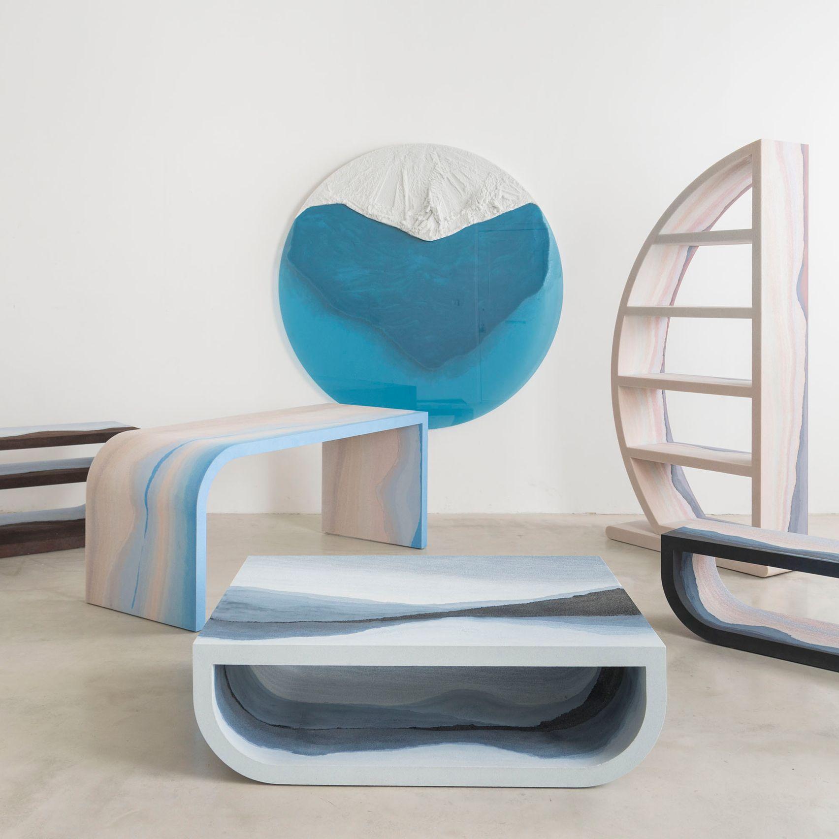 Fernando Mastrangelo s Escape furniture evokes landscapes through