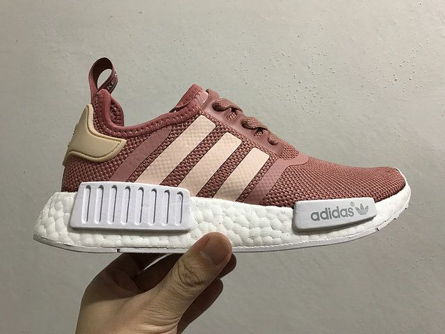 Adidas NMD Popcorn Women Shoes Deep Pink White | Adidas