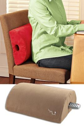 Leather Sectional Sofa Easily add back support to your desk couch dining room and more Solutions