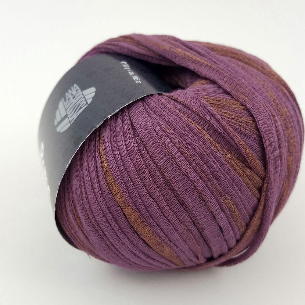 13 lila//kupfer 50 g Wolle Kreativ Roma Lana Grossa Fb