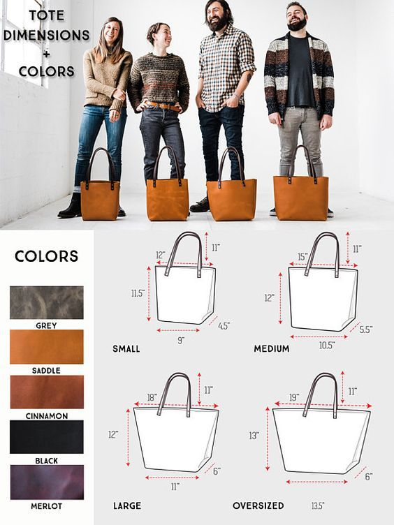 Leather Tote Bag – Tote with Zipper Option Leather Tote Pocket for Women Zipper Available Leather Tote SALE Bag Purse