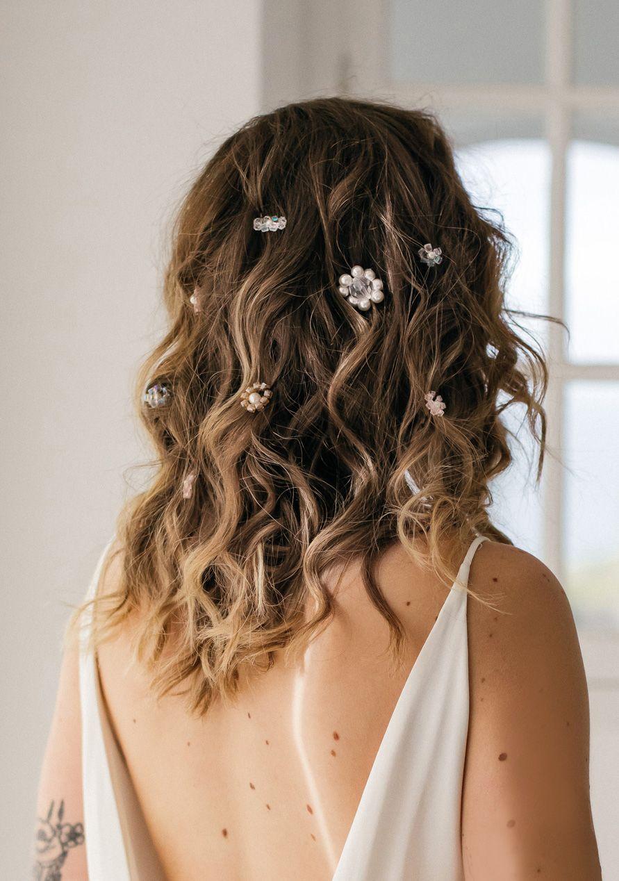 Uen coiffure de mariage fun et moderne en 2019 Coiffure