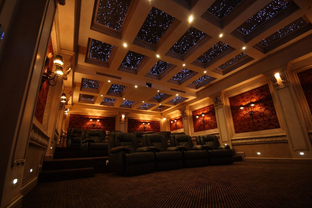 The fibre optic star ceiling really does give the ...